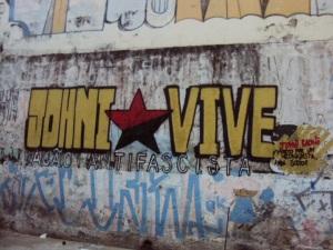 Mural poświęcony Joniemu Raoni