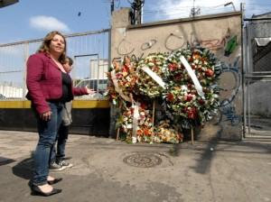 Miejsce zabójstwa Joniego Raoni - zamordowanego przez neonazistów.